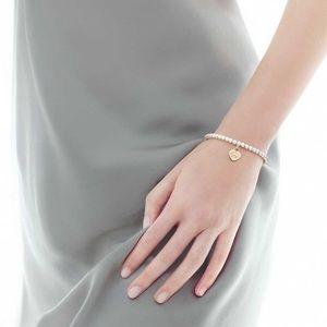 Return to Tiffany beaded bracelet